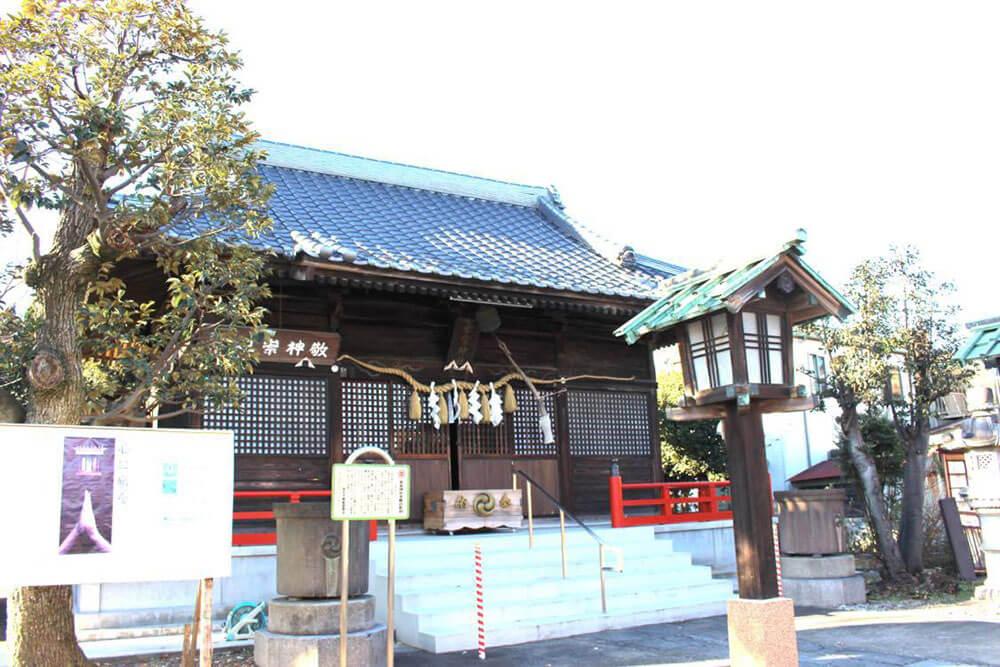 幸宮神社(総鎮守・市指定文化財)