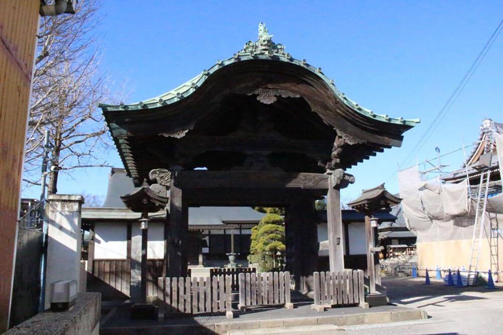 聖福寺勅使門(市指定文化財)